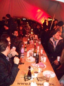 dalston long table