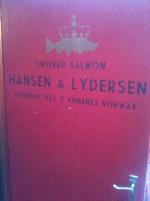 Hansen & Lydersen front door
